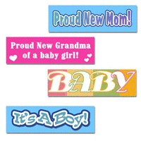 Baby Bumper Stickers!