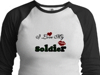 I Love My Soldier Tshirts and Gifts