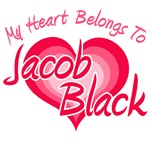 My Heart Belongs To Jacob Black T-Shirts