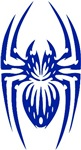 Spiders Blue Designs