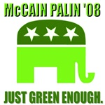 McCain Palin:  Just Green Enough