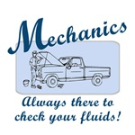 Funny Mechanics T-Shirts