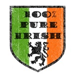 100% Pure Irish T-Shirts