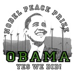 Nobel Peace Prize Yes We Did