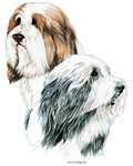 Masterful Bearded Collie Dog Products & Gifts