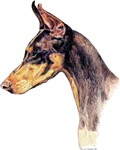 Dareing Doberman Pinscher Dobie Dog Products Gifts