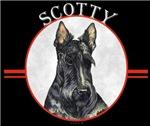 Scottish Terrier Scotty Cool T-shirt Designs