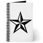 Punk Nautical Star Journals