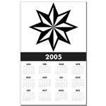 Punk Nautical Star Calendars