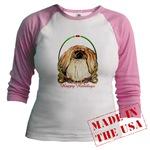 Pekingese Dog Holiday Just for Juniors Wear