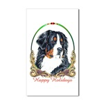 Bernese Mountain Dog Holiday Stickers