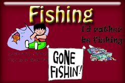Fishing T-shirts and gifts.