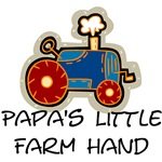Papa's little farm hand t-shirts and gifts.