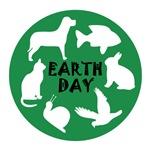 ANIMAL EARTH DAY DESIGN