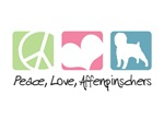 Peace, Love, Affenpinschers