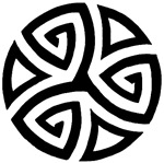 Celtic Trinity Design Circle