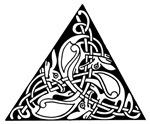 Celtic Zoomorphic Triangle