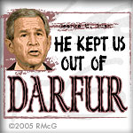 He Kept Us Out Of Darfur