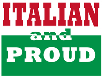 Proud and Italian
