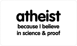 Atheist - Science & Proof T-shirts