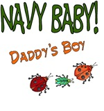 Navy Baby - Daddy's Boy