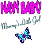 Navy Baby Mommys girl