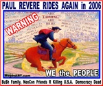 PAUL REVERE rides AGAIN 2006