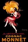 Cognac Monnet, Vintage Poster