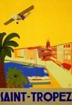 Saint-Tropez, Vintage Poster