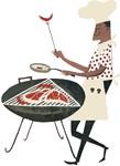 Retro Grill Chef