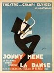 Jazz Saxophone, Vintage Poster