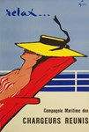 Relax, Vintage Poster