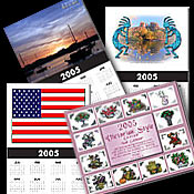 2008 One-page & Monthly Calendars