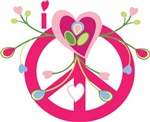 Hearts, Flowers & Peace
