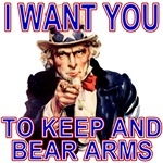 Uncle Sam Keep And Bear Arms