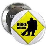 Ogre Online MMORPG Buttons & Magnets