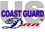 USCG Dad Military T shirts & Merchandise