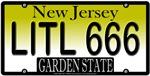 Little Devil New Jersey Vanity License Plate Desig