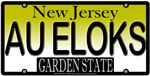Goldilocks New Jersey Vanity License Plate Design