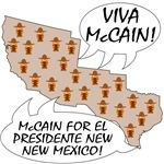 McCain For El Presidente T-shirts & Gifts
