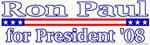 Ron Paul for President 2008 Design