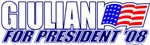 Giuliani for President '08 Design
