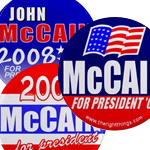 McCain/Palin 2008 Buttons & Magnets