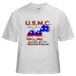 USMC Keeping America Free T-Shirts