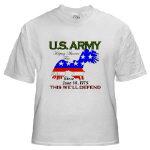 US ARMY Keeping America Free T-Shirts