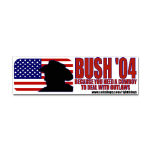 George W. Bush Political Bumper Stickers