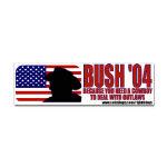 George W. Bush Political Bumper Stickers