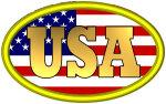 Patriotic USA Logo T-shirts and Gifts