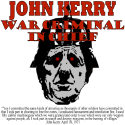 War Criminal In Chief Anti-Kerry Apparel/Gifts