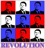 Reagan Revolution Pop Art Design